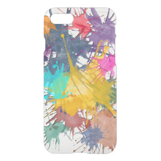 Color my life splatter + your background iPhone 7 case
