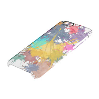 Color my life splatter + your background iPhone 6 plus case