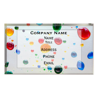 Color My World Bright Paint Drops Pack Of Standard Business Cards
