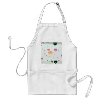 Color My World Bright Paint Drops Standard Apron