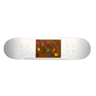 Color nature skateboard