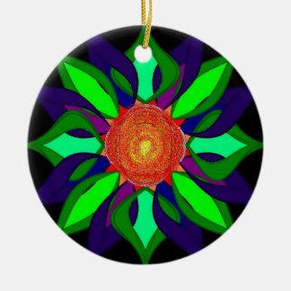 Color pedals orniment christmas ornament