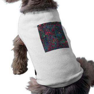 Color Pen Doodle 02 Sleeveless Dog Shirt