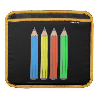Color pencil design on iPad Air case. iPad Sleeve