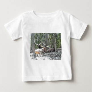 Color Pencil Longhorns Baby T-Shirt