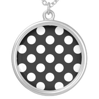 Color Polka Dotted Necklaces