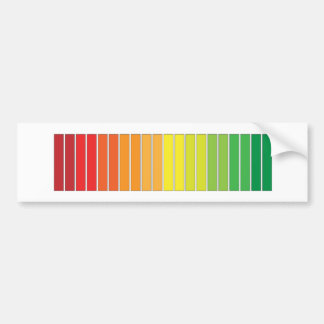 'COLOR PROGRESS' BUMPER STICKER