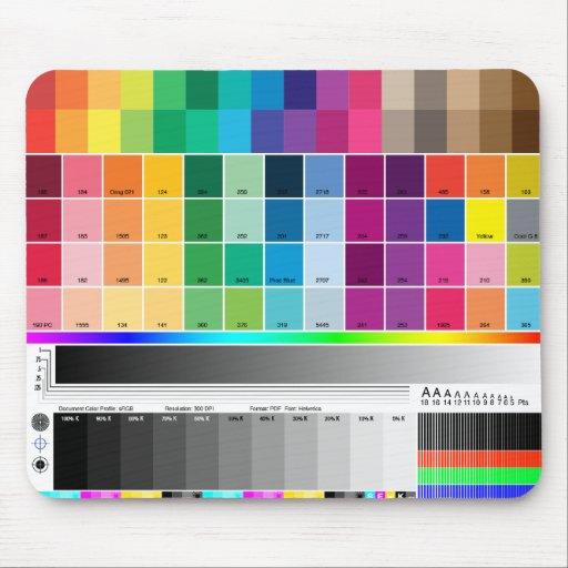 Color Proof Mousepad