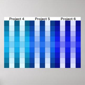 Color Rainbow Poster Project Calendar 2