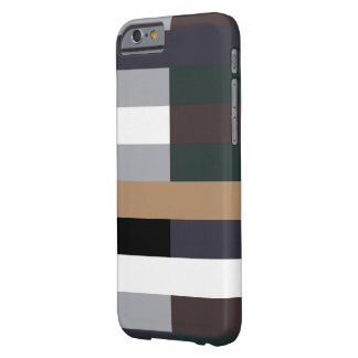 Color Rectangles 001 Barely There iPhone 6 Case