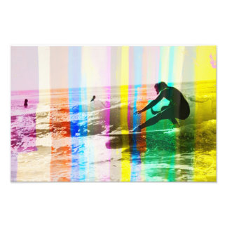 Color ride photo print