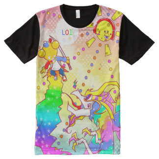 Color-Royale All-Over Print T-Shirt