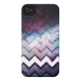 Color Saturated Galaxy Nebula with Chevrons iPhone 4 Case