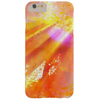 color seamless art background yellow, orange barely there iPhone 6 plus case