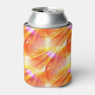 color seamless art background yellow, orange can cooler