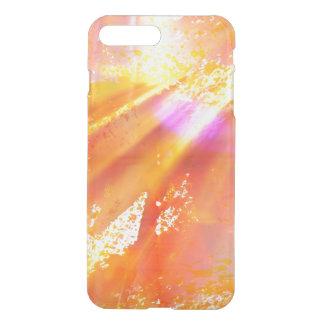 color seamless art background yellow, orange iPhone 8 plus/7 plus case