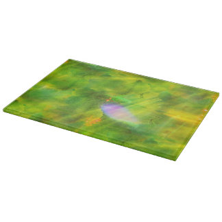 color seamless background green, yellow cutting board