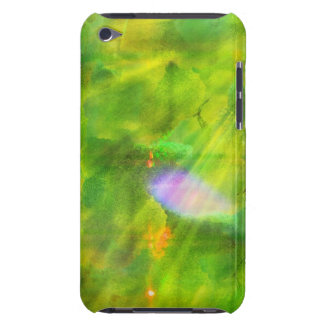 color seamless background green, yellow iPod touch case