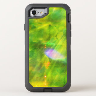 color seamless background green, yellow OtterBox defender iPhone 8/7 case