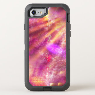 color seamless background purple, pink OtterBox defender iPhone 8/7 case