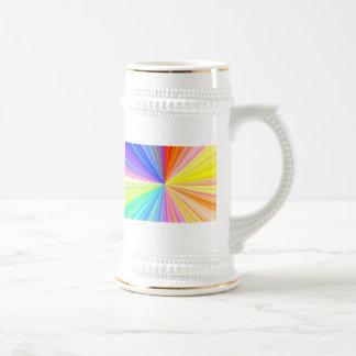 Color Shade Wheel - Rainbow Extreme Coffee Mugs