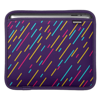 Color Shower Abstract Background iPad Sleeve