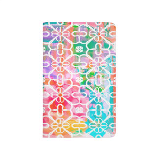 Color Shower Abstract Background Journal