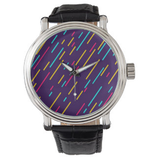 Color Shower Abstract Background Watch