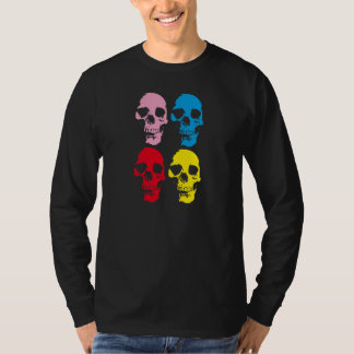 COLOR SKULLS T-Shirt