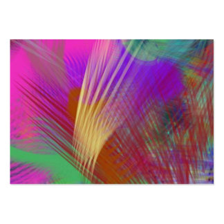 Color Slash Splash Fun Sassy Sissy Girly Abstract Pack Of Chubby Business Cards