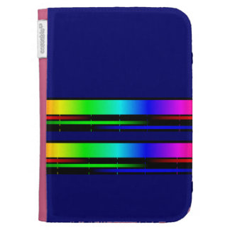 color spectrum kindle folio cases