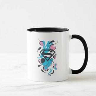 Color Splash Blue Mug