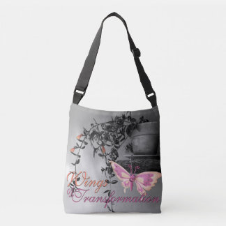 Color Splash Butterfly Still Life Photograph Crossbody Bag