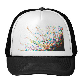 Color Splatter Comboniations Trucker Hat