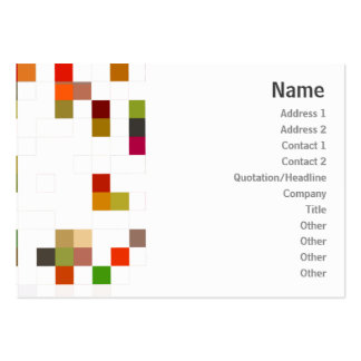 Color Square - Chubby Business Cards