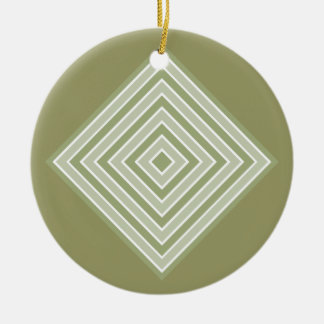COLOR SQUARES custom ornament