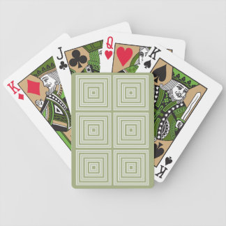 COLOR SQUARES custom playing cards