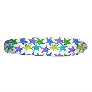 Color Stars Skate Board Decks