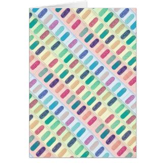 COLOR Strip Design Patterns Card