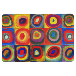 Color Study by Wassily Kandinsky Floor Mat