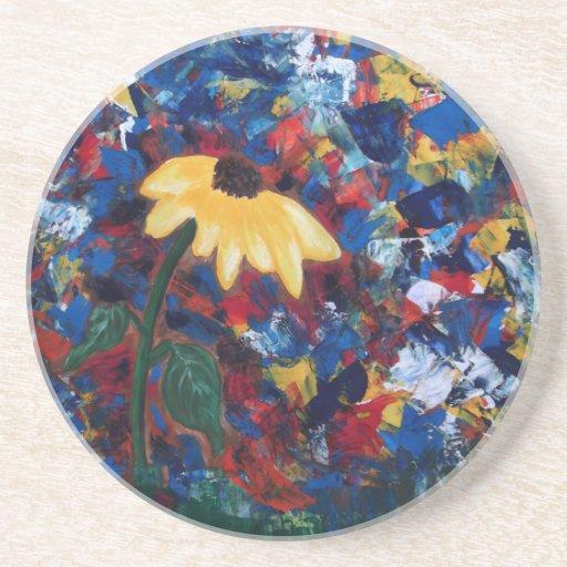 Color Sun Bathing Coaster
