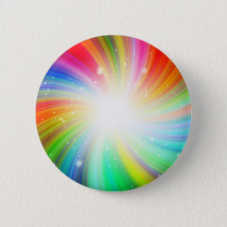 Color swirl 6 cm round badge