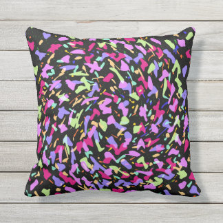COLOR SWIRL CUSHION