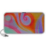Color Swirl Painting Portable Speaker