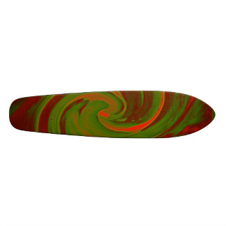 Color Swirl Skate Deck