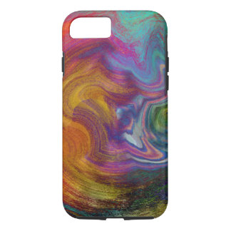 Color Swirls iPhone 7 Case