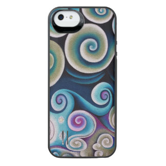 Color Swirls iPhone SE/5/5s Battery Case
