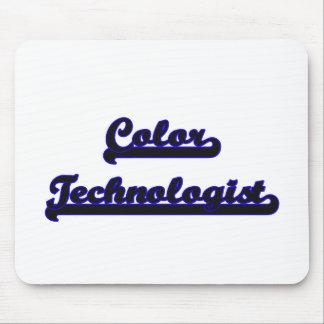 Color Technologist Classic Job Design Mouse Pad