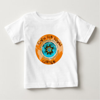 Color the World Orange - CRPS Dual Ice Circlet.png Baby T-Shirt