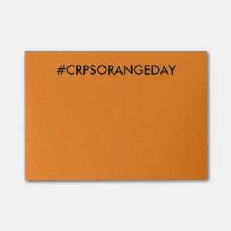 Color The World Orange™ #CRPSORANGEDAY Post-it Post-it Notes